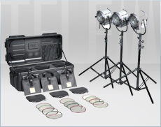 Kit Tungsten Fresnel 650w Junior 3